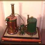 Modello di macchina a vapore costruita a Trieste nel 1879 da Antonio Versa
