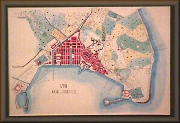Particolare della situazione del porto nel 1789