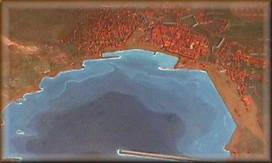 Plastico del porto di Spalato