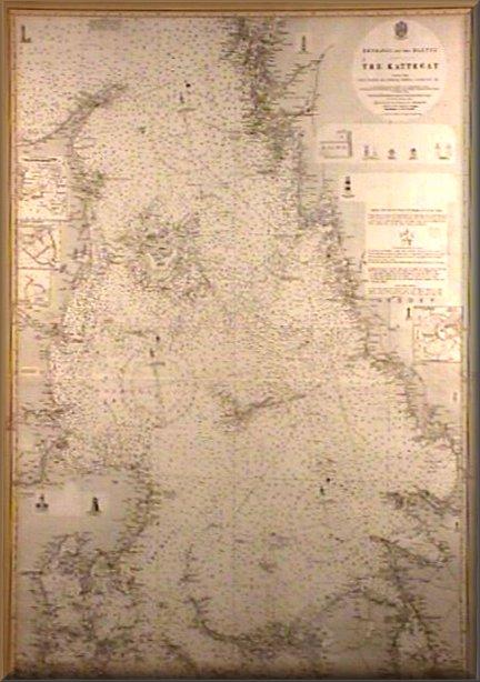 Carta The Kattegat