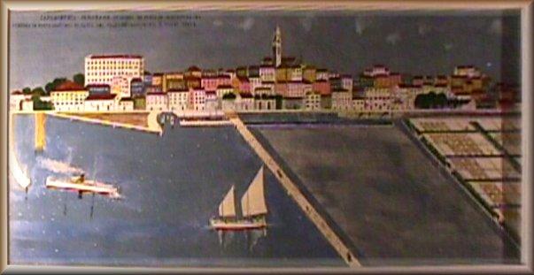 Panorama di Capodistria